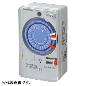 パナソニック 買い物 24時間式タイムスイッチ ボックス型 期間限定 クォーツモータ式 TB1101N 別回路 AC100-220V用
