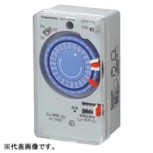 <title>パナソニック 24時間式タイムスイッチ ボックス型 交流モータ式 年間定番 AC100V用 同一回路 TB171N</title>