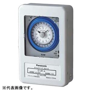 パナソニック 24時間式タイムスイッチ ボックス型 交流モータ式 AC100V用 a接点 お見舞い TB311K スチールケース入 同一回路 格安激安