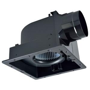 三菱 ダクト用換気扇 グリル別売タイプ 24時間換気機能付 サニタリー用 低騒音形 接続パイプφ150mm 埋込寸法315mm角 VD-18ZLC10-IN