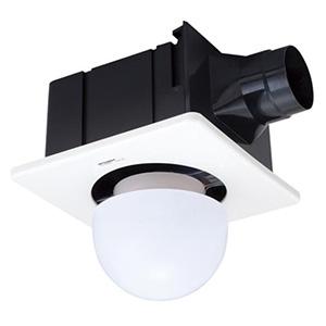 三菱 ダクト用換気扇 天井埋込形 低騒音形 照明器据付タイプ サニタリー用 接続パイプφ100mm 埋込寸法260mm角 VD-15ZSL10