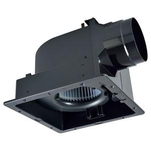 三菱 ダクト用換気扇 グリル別売タイプ サニタリー用 低騒音形 プラスチックボディタイプ 接続パイプφ150mm 埋込寸法315mm角 VD-20ZC10-IN