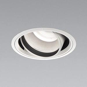 コイズミ照明 LEDユニバーサルダウンライト 2500lmクラス HID100W・FHT42W×2相当 白色 埋込穴φ150mm 照度角55° 電源別売 XD91047L