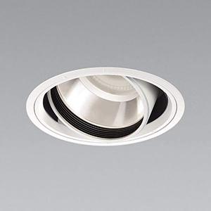 コイズミ照明 LEDユニバーサルダウンライト 4000lmクラス HID100W・FHT42W×3相当 温白色 埋込穴φ150mm 照度角35° 電源別売 XD91049L