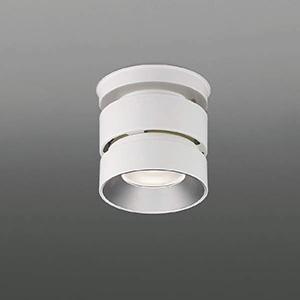 コイズミ照明 LEDシーリングダウンライト 4000lmクラス HID100W・FHT42W×3相当 白色 照度角30° 電源別売別置型 XH91153L