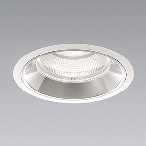 コイズミ照明 LEDベースダウンライト 12500lmクラス HID250W相当 白色 埋込穴φ200mm 照度角50° 電源別売 XD91242L