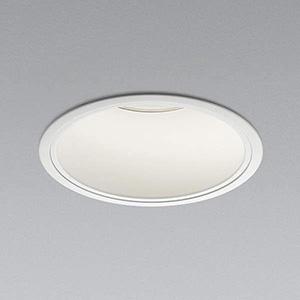 コイズミ照明 LEDベースダウンライト 深型 5500lmクラス HID100W・FHT57W×3相当 温白色 埋込穴φ150mm 照度角55° 電源別売 XD91350L