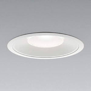 コイズミ照明 LEDベースダウンライト 浅型 明るさ切替タイプ HID150W・FHT42W×4相当 白色 埋込穴φ200mm 照度角55° 電源別売 XD91389L