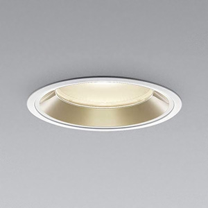 コイズミ照明 LEDベースダウンライト 浅型 明るさ切替タイプ HID150W・FHT42W×4相当 電球色 埋込穴φ150mm 照度角60° 電源別売 XD91391L