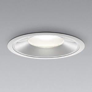 コイズミ照明 LEDベースダウンライト 浅型 5500lmクラス HID100W・FHT57W×3相当 昼白色 埋込穴φ200mm 照度角60° 電源別売 XD91400L