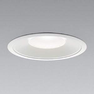 コイズミ照明 LEDベースダウンライト 浅型 5500lmクラス HID100W・FHT57W×3相当 白色 埋込穴φ200mm 照度角60° 電源別売 XD91401L