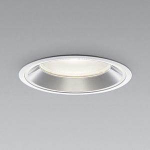 コイズミ照明 LEDベースダウンライト 浅型 5500lmクラス HID100W・FHT57W×3相当 温白色 埋込穴φ150mm 照度角60° 電源別売 XD91408L