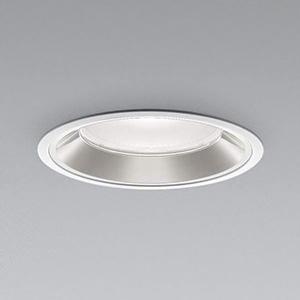 コイズミ照明 LEDベースダウンライト 浅型 5500lmクラス HID100W・FHT57W×3相当 白色 埋込穴φ150mm 照度角60° 電源別売 XD91409L