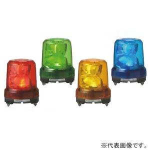 パトライト LED大型回転灯 《パトライト》 強耐震型 定格電圧DC12/24V兼用 φ162mm 黄 RLR-M1-Y