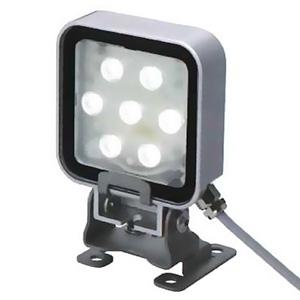パトライト 防水耐油型LED照射ライト 《PATLEDS》 パン・チルトタイプ 照度820lx 昼光色 CLN-24-CD-PT