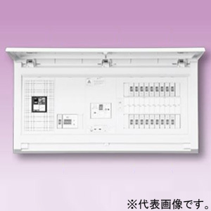 テンパール工業 住宅用分電盤 《パールテクト》 オール電化対応 エコキュート・電気温水器・IHクッキングヒーター・蓄熱暖房器 扉付 14+2 主幹50A MAG35142IB3E34