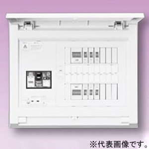 テンパール工業 住宅用分電盤 《パールテクト》 オール電化対応 蓄熱分電盤(1系統) 扉付 5+2 主幹75A MAG27052TN1