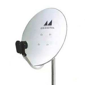 日本アンテナ CSアンテナ 1出力型電圧切換方式 口径45cm型 垂直直線偏波専用 45CSV