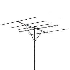 日本アンテナ FMアンテナ 水平受信用 5素子 中電界地区向け FM補完放送対応 AF5W