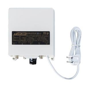 日本アンテナ 利得切換式屋外用電源着脱型ブースター 3.2GHz対応 適合マスト径φ22~50mm 地上・BS・110°CSデジタル放送対応 出力モニター端子付 NSB42DSUE-BP