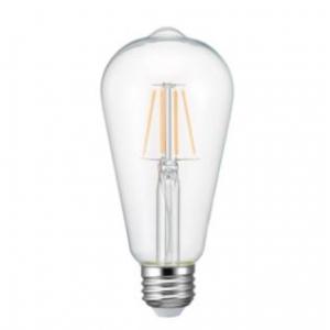 ヤザワ 【ケース販売特価 10個セット】 LEDフィラメント電球 クリアタイプ エジソン電球40形相当 電球色 E26口金 LDE4LGC_set