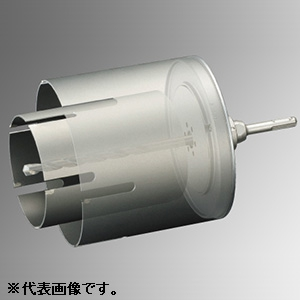 ユニカ 多機能コアドリル 換気扇用セット 《UR21》 Mシリーズ マルチタイプ 回転専用 SDSシャンク 口径110・160mm シャンク径10mm UR-KM1116SD