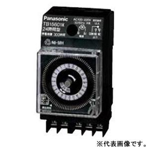 パナソニック 週間式タイムスイッチ JIS協約型・2P クォーツモータ式 AC100-220V用 1回路型 TB16301K