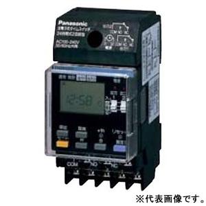 パナソニック 24時間式タイムスイッチ JIS協約型・2P 電子式 2回路型 TB261201K