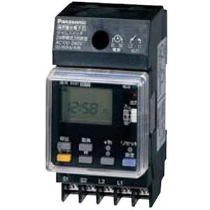 パナソニック 24時間式タイムスイッチ JIS協約型・2P 電子式 高容量15A仕様 1回路型 TB291K