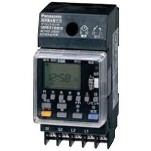 パナソニック 週間式タイムスイッチ JIS協約型・2P 電子式 高容量15A仕様 1回路型 TB292K