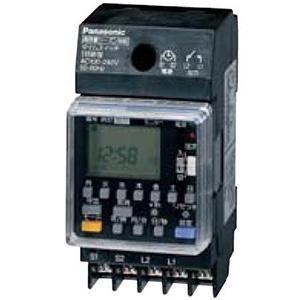 パナソニック 年間式タイムスイッチ JIS協約型・2P 電子式 高容量15A仕様 1回路型 シーズン対応機能付 TB792K