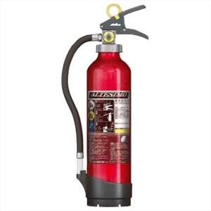 モリタ宮田工業 アルミ製蓄圧式粉末ABC消火器 《アルテシモ》 業務用 6型 総質量約2.9kg リサイクルシール付 MEA6リサイクルシールツキ