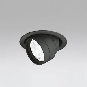 オーデリック LEDハイユニバーサルダウンライト M形 埋込穴φ100 JR12V-50Wクラス LED5灯 配光角49° 連続調光 本体色:ブラック 電球色タイプ 2700K XD258886