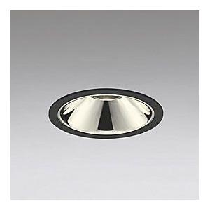 オーデリック LEDダウンライト M形 埋込穴φ100 JDR75Wクラス グレアレス 配光角24° 連続調光 本体色:ブラック 電球色タイプ 3000K XD258896
