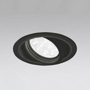 オーデリック LEDユニバーサルダウンライト M形 埋込穴φ125 HID35Wクラス LED12灯 配光角14° 連続調光 本体色:ブラック 温白色タイプ 3500K XD258187P