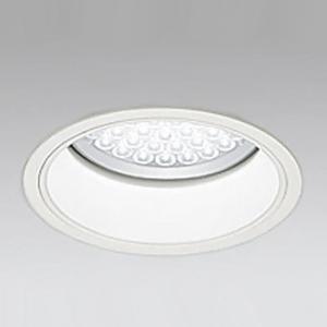 オーデリック LEDダウンライト M形 埋込穴φ200 HID250Wクラス LED48灯 配光角:29° 非調光 本体色:オフホワイト 白色タイプ 4000K XD301011F