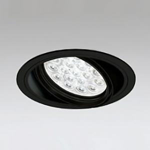 オーデリック LEDユニバーサルダウンライト M形 埋込穴φ150 HID70Wクラス LED18灯 配光角20° 連続調光 本体色:ブラック 温白色タイプ 3500K XD258661P