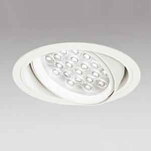 埋込穴φ150 XD258817F HID100Wクラス 配光角45° LED24灯 非調光 4000K 本体色:オフホワイト オーデリック LEDユニバーサルダウンライト M形 白色タイプ