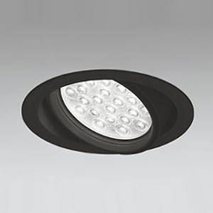 オーデリック LEDユニバーサルダウンライト M形 埋込穴φ150 HID100Wクラス LED24灯 配光角27° 非調光 本体色:ブラック 電球色タイプ 3000K XD258836F