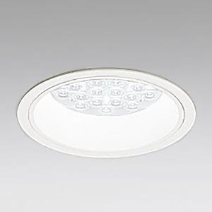 オーデリック LEDダウンライト M形 埋込穴φ150 HID100Wクラス LED24灯 配光角:47° 非調光 本体色:オフホワイト 白色タイプ 4000K XD258572F