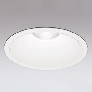 オーデリック LEDダウンライト M形 防雨仕様 埋込穴φ300 メタルハライドランプ250Wクラス 配光角:35° 連続調光 本体色:オフホワイト 温白色タイプ 3500K XD301127