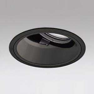 オーデリック LEDユニバーサルダウンライト M形 深型 埋込穴φ150 CDM-T150Wクラス 高彩色タイプ ナロー配光 連続調光 本体色:ブラック 白色タイプ 4000K XD401216H