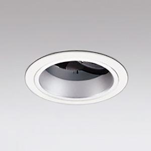 オーデリック LEDユニバーサルダウンライト M形 深型 埋込穴φ100 JR12V-50Wクラス 高彩色タイプ ナロー配光 連続調光 本体色:オフホワイト 温白色タイプ 3500K XD143148H