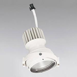 オーデリック LEDマルチユニバーサル M形 CDM-T35Wクラス 高彩色タイプ スプレッド配光 連続調光 本体色:オフホワイト 温白色タイプ 3500K XS412327H