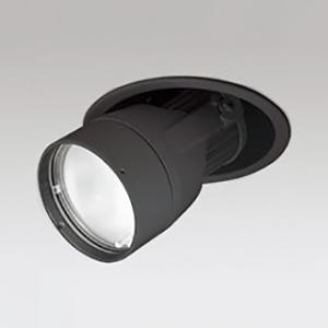 オーデリック LEDダウンスポットライト M形 埋込穴φ100 JR12V-50Wクラス 高彩色タイプ スプレッド配光 連続調光 本体色:ブラック 白色タイプ 4000K XD403334H