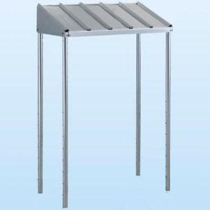 日晴金属 PCキャッチャー 防雪屋根 PC-NJ30型用 ねじない組立 天板:ZAM®鋼板 溶融亜鉛メッキ仕上げ 《goシリーズ》 PC-RJ30