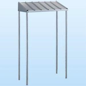 日晴金属 PCキャッチャー 防雪屋根 PC-NJ60型用 ねじない組立 天板:ZAM®鋼板 溶融亜鉛メッキ仕上げ 《goシリーズ》 PC-RJ60
