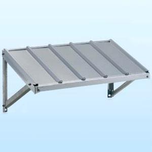 日晴金属 PCキャッチャー 壁面用防雪屋根 パッケージエアコン用 天板:ZAM®鋼板 溶融亜鉛メッキ仕上げ 《goシリーズ》 PC-RKJ30