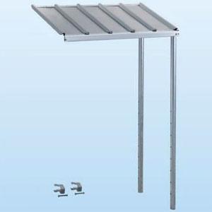 日晴金属 PCキャッチャー PC-RJ30専用連結屋根 ねじない組立プラスワン 天板:ZAM®鋼板 溶融亜鉛メッキ仕上げ 《goシリーズ》 T-RJ30P