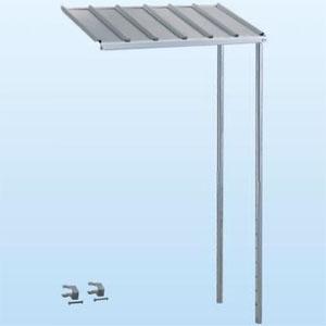 日晴金属 PCキャッチャー PC-RJ60専用連結屋根 ねじない組立プラスワン 天板:ZAM®鋼板 溶融亜鉛メッキ仕上げ 《goシリーズ》 T-RJ60P